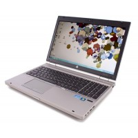 "HP Elitebook 8560p Intel Core i5 - 2520M 2.50 GHz 4GB 250GB DVDrw Webcam 15,6"" Windows 7 Pro"