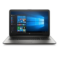 "HP 17-X037 Core i3-5005U 2.0GHz 1TB 8GB 17.3"" (1600x900) DVD-RW BT WIN10 Webcam TURBO SILVER Backlit Keyboard"