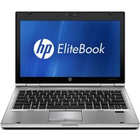 "HP EliteBook 2560p Core i7 2620M 2.70 Ghz 8GB 320GB 12.5"" Webcam DVDrw Windows 7"