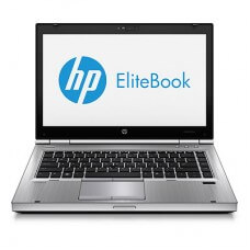 "HP Elitebook 8470p Core i5 3320M 2.6GHz 4GB 320GB 14.1"" Webcam DVDrw Windows 10 Pro"