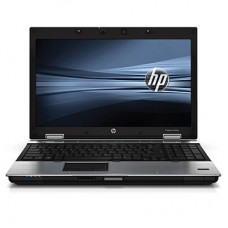 "HP Elitebook 8540p Intel Core i5 M520 2.40 GHz 4GB 250GB DVDrw 15,6"" Nvidia 1GB Windows 7 Pro"