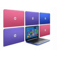 "HP 15 Quad-Core 4GB 1TB HDD 15.6"" in 5 Kleuren"