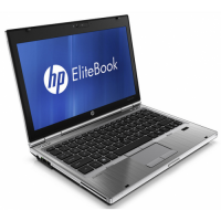 "HP EliteBook 2560p Core i7 2620M 2.70 GHz 4GB 120GB SSD 12.5"" Webcam DVDrw Windows 7 Home"