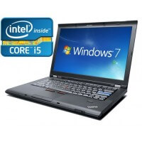 "Lenovo Thinkpad T510 Core i5 M520 2.40 Ghz 4GB 320GB  15,6"" Windows 7 Pro"
