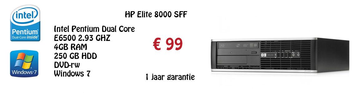 Hp elite 8000